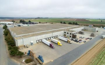 Aerial photo of Lineage's Watsonville - Hilltop