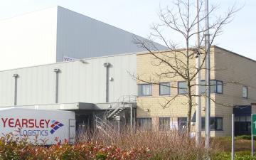 Exterior photo of Lineage's Hams Hall facility