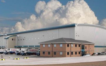 Exterior photo of Lineage's Seaham facility