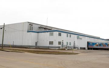 Exterior photo of Lineage's Louisville - Industry facility