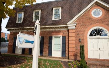 Exterior photo of Lineage's Richmond - Radford office