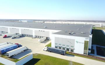 Aerial photo of Lineage's Wilmington - Graaskamp facility