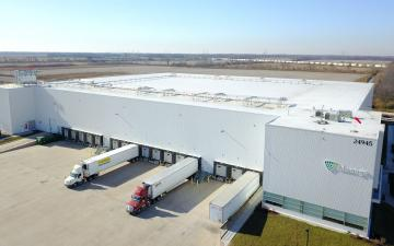 Aerial photo of Lineage's Wilmington - Design facility
