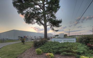 Exterior photo of Lineage's Smithfield, Virginia facility