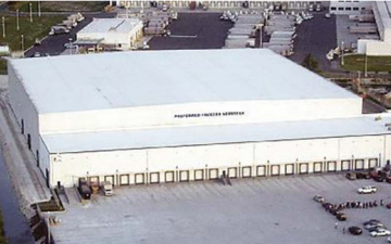 Aerial photo of Lineage's Miami (Medley) - 115th Street facility