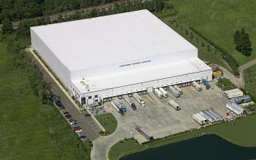 Aerial photo of Lineage's Norfolk (Chesapeake) facility