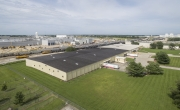 Aerial photo of Lineage's Decatur (IL) facility