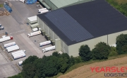 Aerial photo of Lineage's Belle Eau Park facility