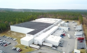 Aerial photo of Lineage's Gaston leased facility