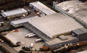 Aerial photo of Lineage's Gillingham facility