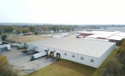 Drone photo of Lineage's Sandston - SEFF facility