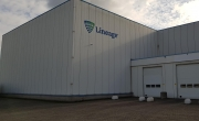 Exterior photo of Lineage's Hoogerheide facility's loading dock.