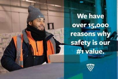 Safe is our #1 Value