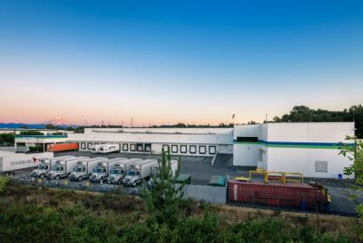 external photo of cold storage warehouse in tacoma washington
