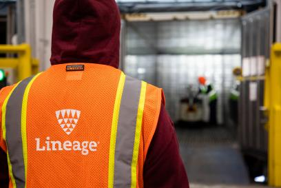lineage tm in warehouse logo