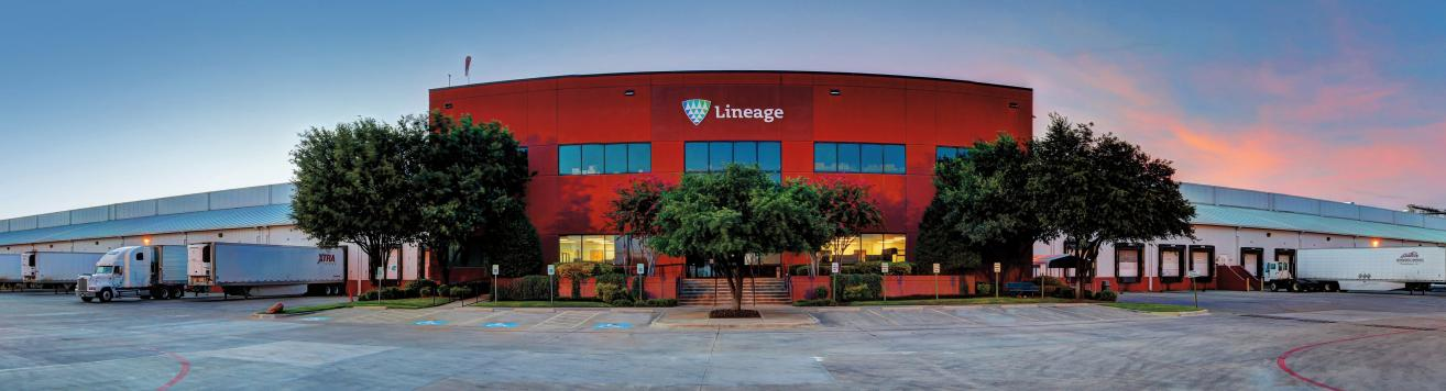 Lineage Logistic building